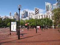 The wide open spaces of Darling Harbour.