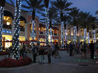 Nighttime is wonderful at CityPlace.