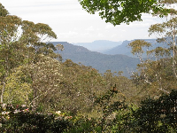Views of the beautiful Jamison Valley.