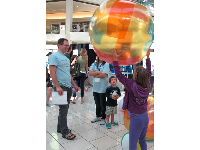 "Scripps Institute holds a science exploration day called ""Cellebrate"" at the mall at the end of January."