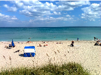 Blissful spring day at Lake Worth Beach!