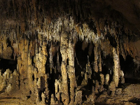Columns, when stalactites and stalagmites meet up.