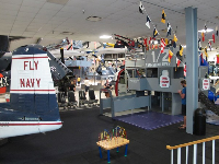 The children's area, like a control tower on an aircraft vessel.