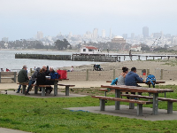 June afternoon at Crissy Field.