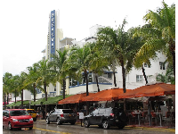The Breakwater Hotel on Ocean Drive.