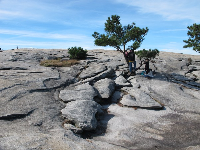 The wonderful rock formations at the summit of Stone Mountain!