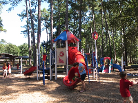 The toddler playground.