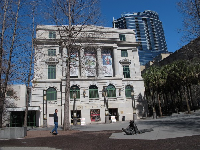 The historic courthouse building where the museum is located.