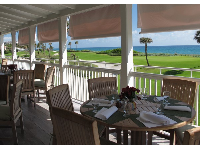 Oceanview dining at Al Fresco Restaurant at Par 3 Golf Course!