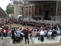 Graduation at Greek Theater! Gorgeous!