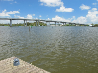 View of the bridge.