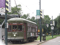 St. Charles trolley.