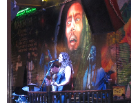 Performer at Cafe Negril.