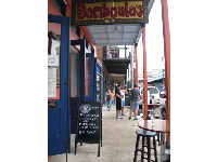 Bamboula's Bar and Grill.