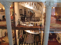 Twisty stairs in a doll house.