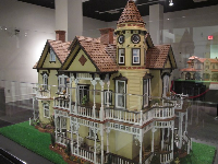 A replica of a Victorian house on Government Street in Mobile, by Aaron Friedman.