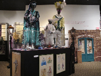 Exhibit about Mardi Gras in Mobile.