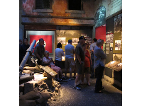 Exhibit about landing at Anzio.
