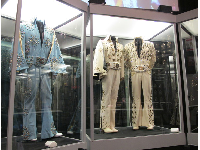 Some of Elvis' outfits.