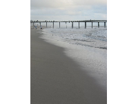 A gorgeous stormy day at Port Hueneme pier!
