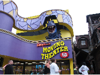 Ripley's Moving Theater, one of many, many attractions.