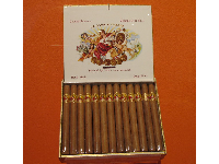 Cuban cigars, by El Credito Cigars, which moved to Miami from Cuba after the Cuban Revolution in 1959.