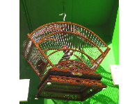 Cuban birdcage made by Manuel Vega.