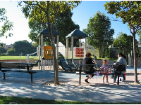 The playground at Alta Vista Park.