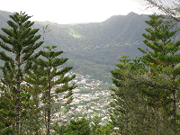 View of Manoa Valley from St Louis Heights.