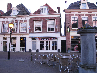 Herenstraat, a historic pedestrian-only street in Voorburg.