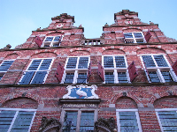 The old town hall, from 1632.