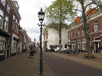 It's lovely to stroll along Herenstraat.