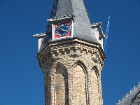 Clocktower on Ridderzaal, Knight's Hall.