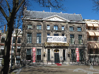The Escher Museum, in a former palace on Lange Voorhout.