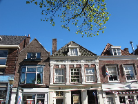 Cute buildings on Herenstraat.