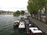 View from Pont des Arts.
