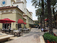 CityPlace looks very European.