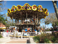 The two-storey carousel.