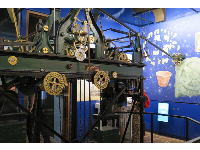 The clock gallery, where you can stand and watch the intricate workings of the clock and bells.