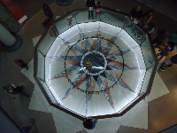Foucault Pendulum, from above.