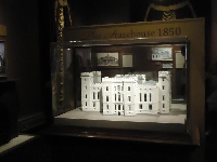 Model of the Old State Capitol.