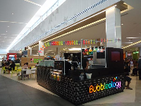 Bubbleology, in the food court at The Florida Mall.