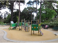 A playground for toddlers.
