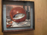 Still Life (Fish with Red Bowl).
