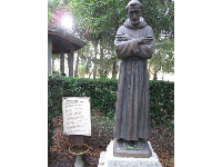 Statue of St. Francis of Assisi.