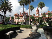 View of Flagler College.