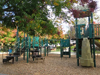 The large play structure for big kids.