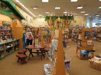 The kids section of the Barnes and Noble.