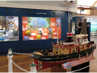 Display on Toot Toot the tug boat.