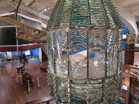 The fresnel lens is beautiful.
